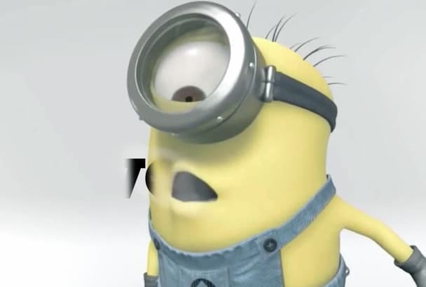 make minion despicable me video logo less 24 hours