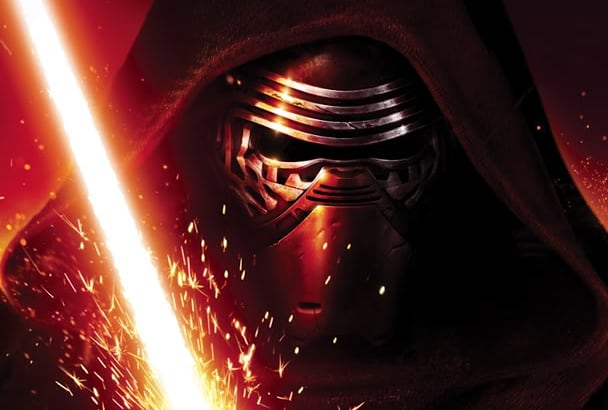 record high quality Kylo Ren voice over