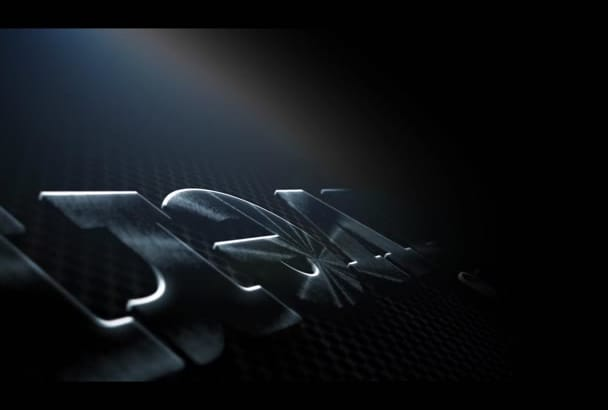 make a you a cool STEEL intro with your text or logo