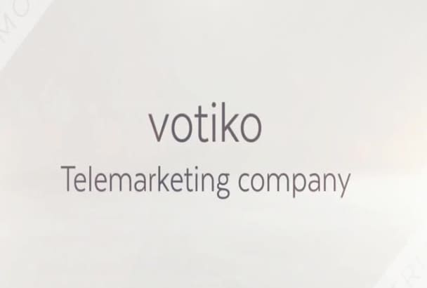 do telemarketing for any campaign