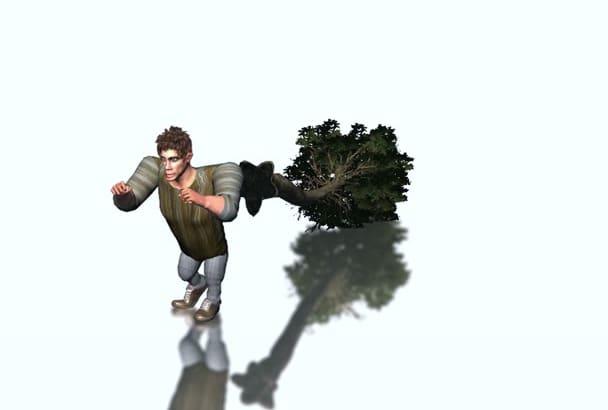 make any type of custom 3d realistc models