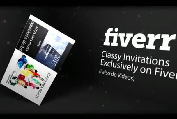 do an Classy Invitation