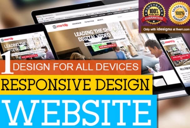 convert your website to full Mobile Responsive