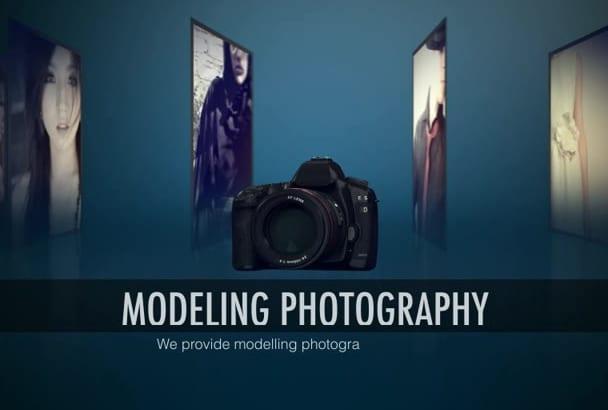 make this amazing Photographer Promo Video Intro