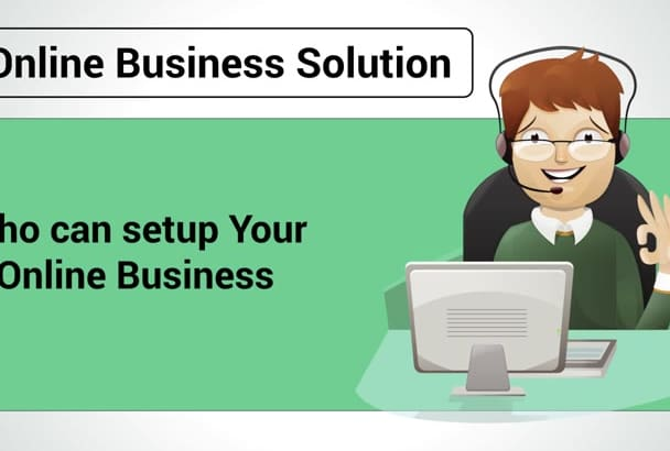 set up your Online Business from A to Z