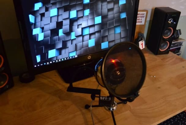 do MANY accents for your project, as well as voice overs