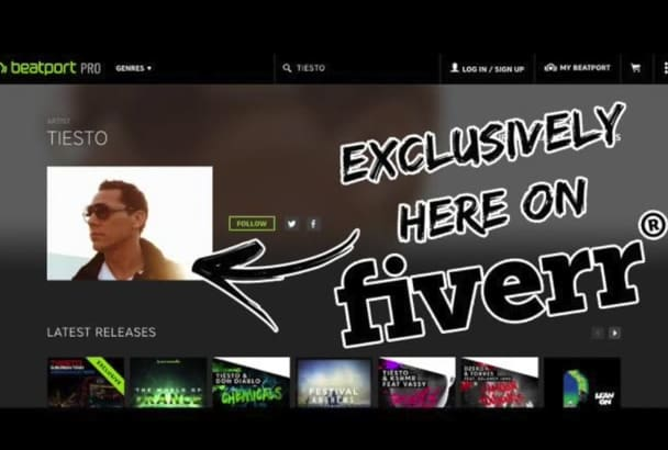 put your pictures into your Beatport Artist Page