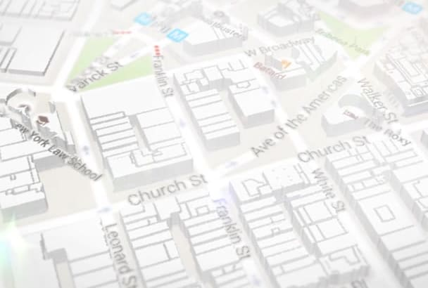 animate Your location in 3D Map