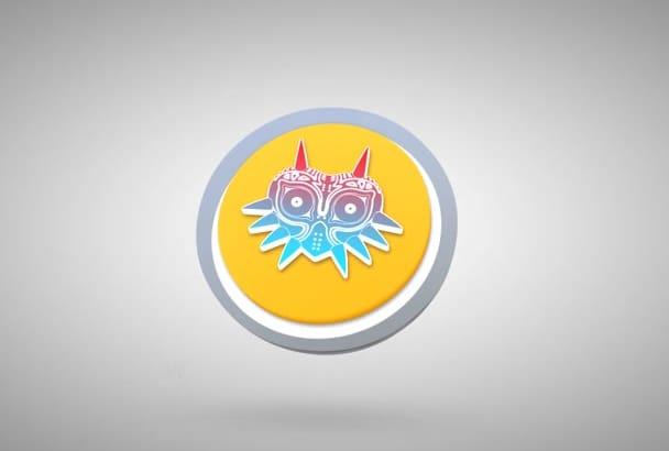 create a Chrome Orb video intro