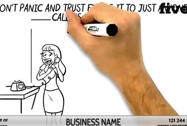create an EFFECTIVE Plumber Whiteboard Video 2