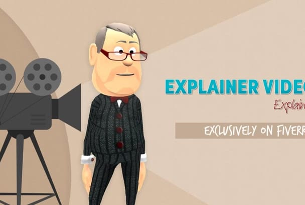 create an awesome 3D explainer video