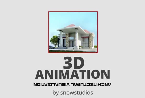 create 3d animations for architecture and real estate