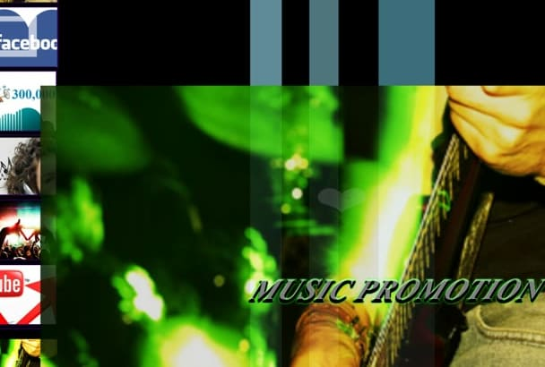 promote your musics  among 100k MUSIC lovers and 2 million fb users
