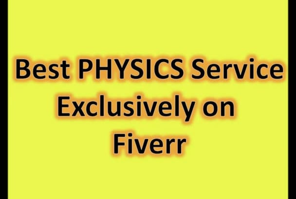 answer Physics Assignment or Physics Question