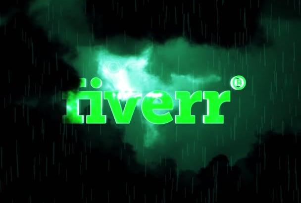 create this awsome cinematic dark sky logo reveal