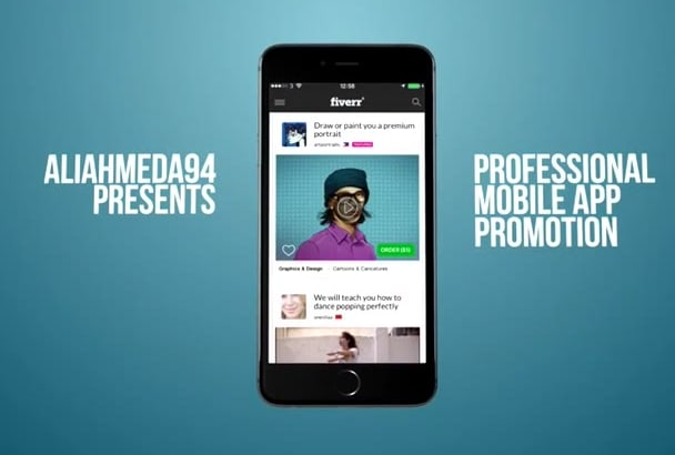 make a Professional  app promo video