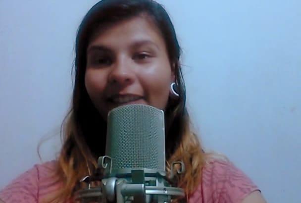 be your Professional VERSATILE Spanish Female Voice Talent