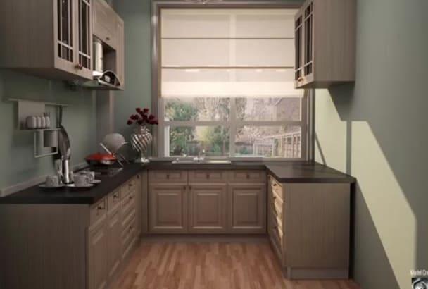 design AWESOME 3D interior,exterior