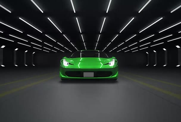 create an amazing car intro