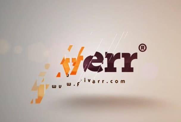 make Amazing Logo Intro in HD