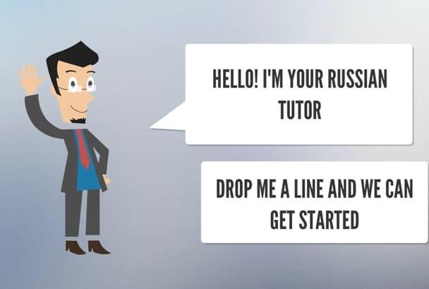 teach or speak Russian on skype