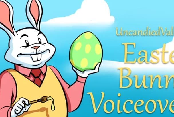 record a Easter Bunny voiceover