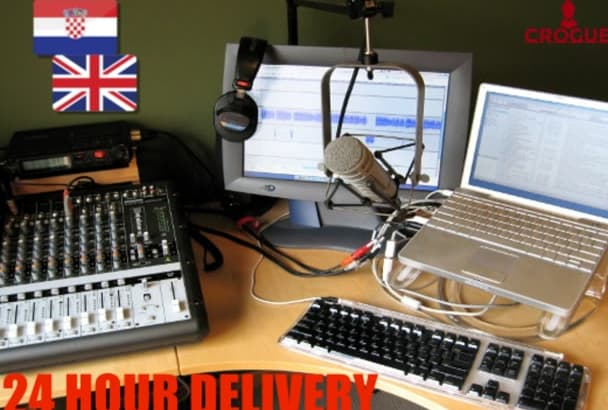 do a voice over in English or Croatian