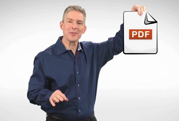 convert Create Design Modify any PDF file