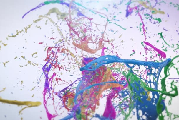 make an AMAZING Animated Video with Colorful Water Splash
