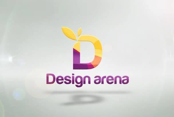 create Elegant Logo Intro