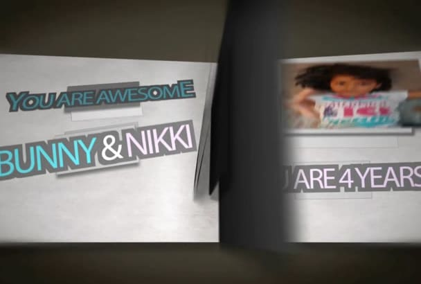 create Amazing Pop Out Book Animation