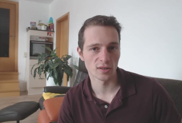 give you a natural video testimonial