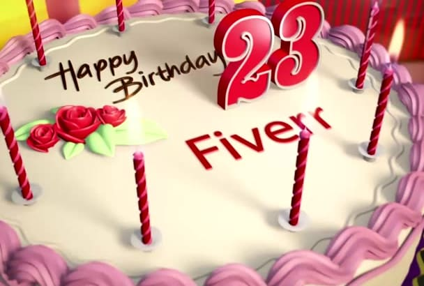 create a beautiful Birthday video for your loved ones