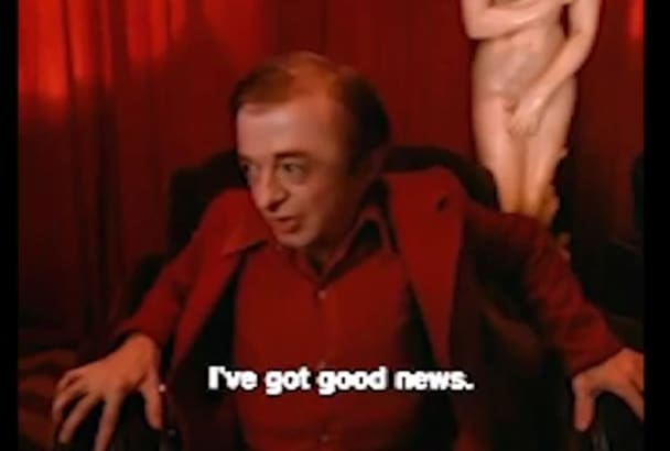 record your message with reverse speech like the dwarf from Twin Peaks