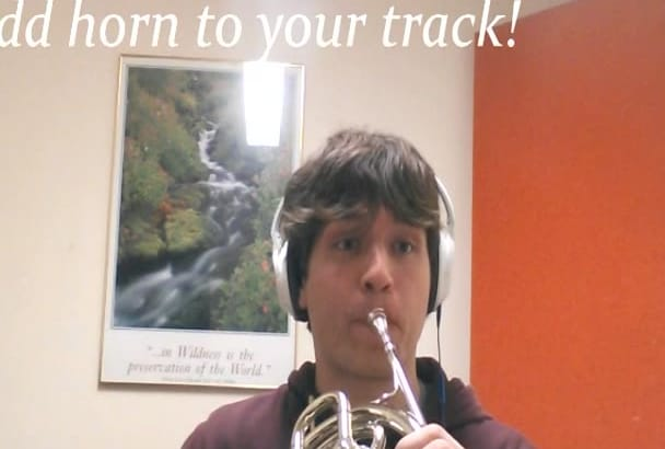 add a French horn track to your music