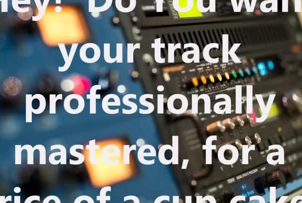do professional audio mastering
