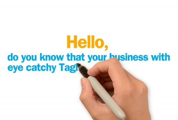 Deliver 12 Catchy Most Creative Taglines Or Slogans For Your Business Website