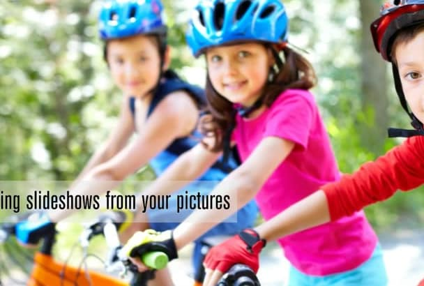 create amazing slideshow of your pictures