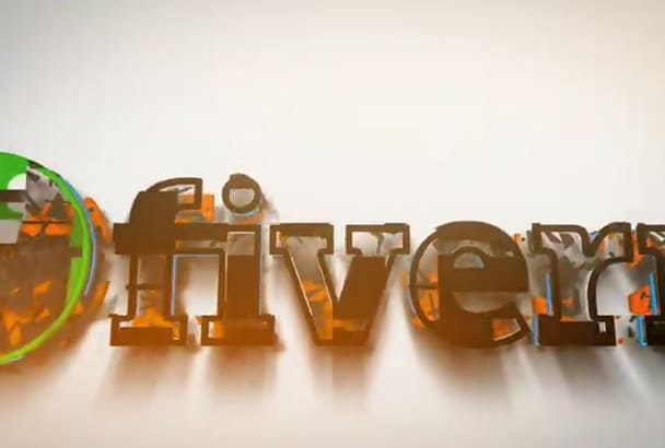 create 3D logo animation in 24H