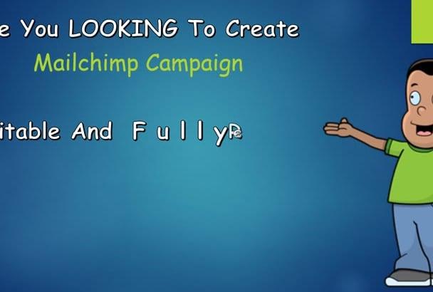 design MailChimp Editable Responsive Newsletter Template