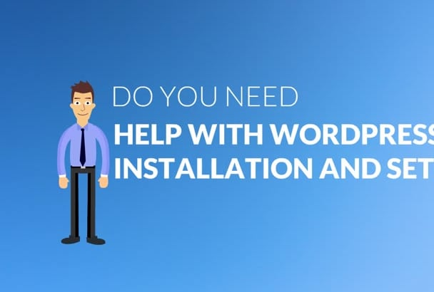 install wordpress,theme,plugins and add pages