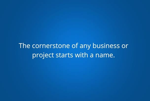 provide 10 names for your product,service,project
