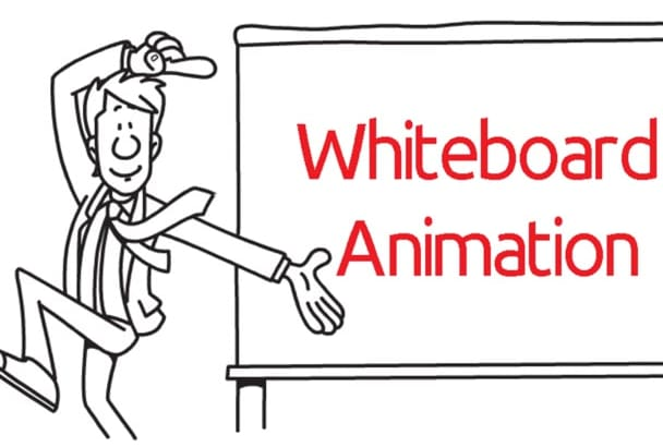 create a Whiteboard Animation video scribe fast
