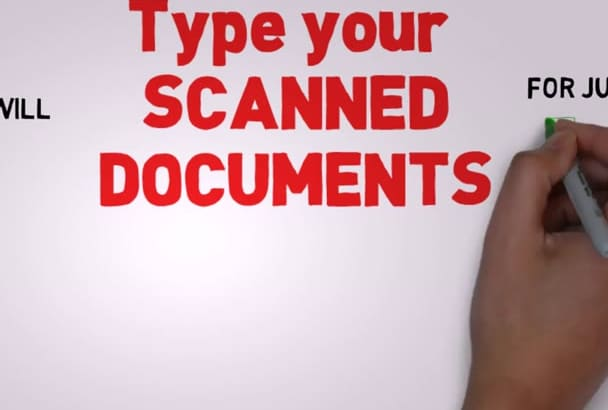 do Copy Paste Work and SCANNED Docs Typing