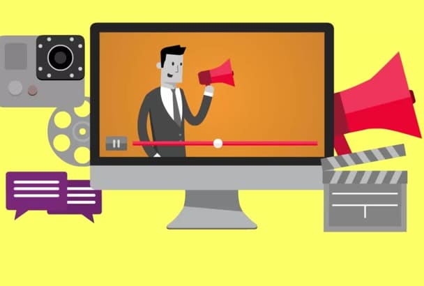 create New HD  Explainer video with Voice Over