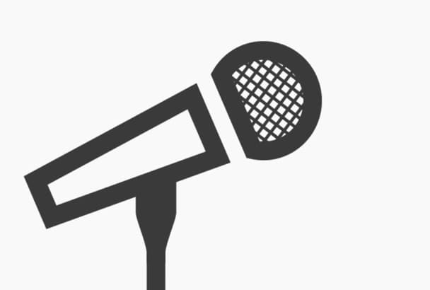 record a voiceover for you, in spanish or english