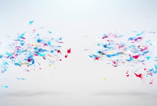 create Butterfly Intro Animation 3d in 24H Full Hd
