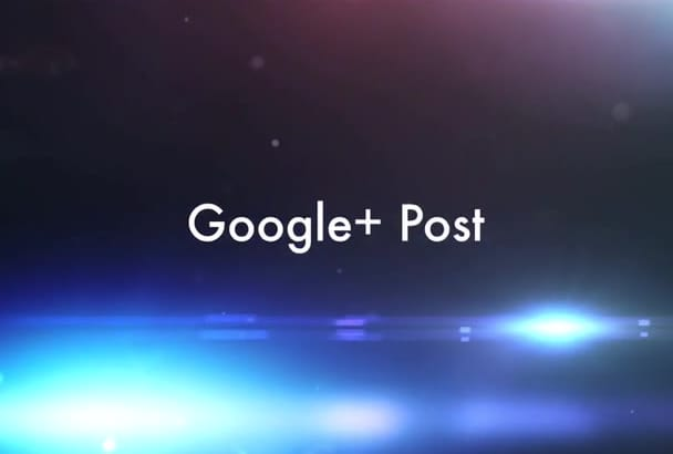 promote your website on my 7,500 Follower Google Plus page