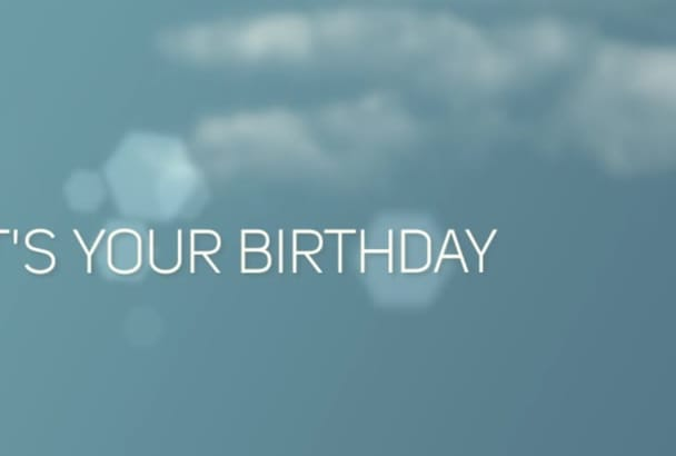 create this amazing birthday video or any from your pictures