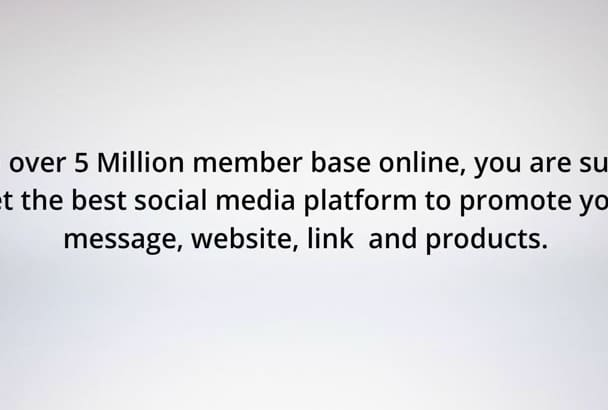 advertise Your Message to 675000 Real RESPONSIVE Facebook Members